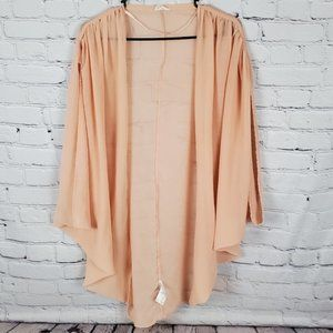 Urban Outfitters Pins and Needles Blush Kimono Size Small Oversized